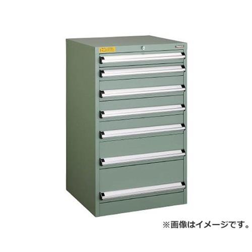 TRUSCO VE6S型キャビネット 600X550XH1000 引出7段 VE6S1001 [r22]