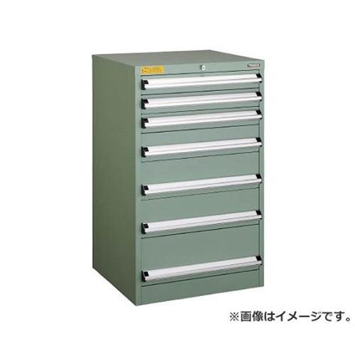 TRUSCO VE6S型キャビネット 600X550XH1000 引出7段 VE6S1002 [r22]