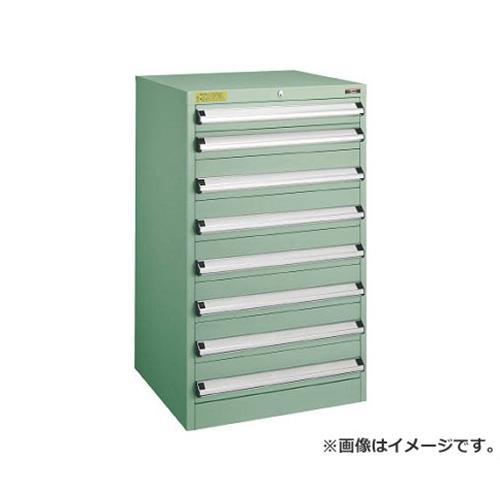 TRUSCO VE6S型キャビネット 600X550XH1000 引出8段 VE6S1003 [r22]