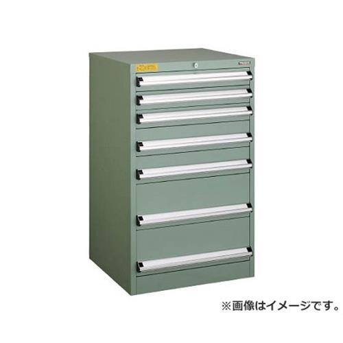 TRUSCO VE6S型キャビネット 600X550XH1000 引出7段 VE6S1004 [r22]