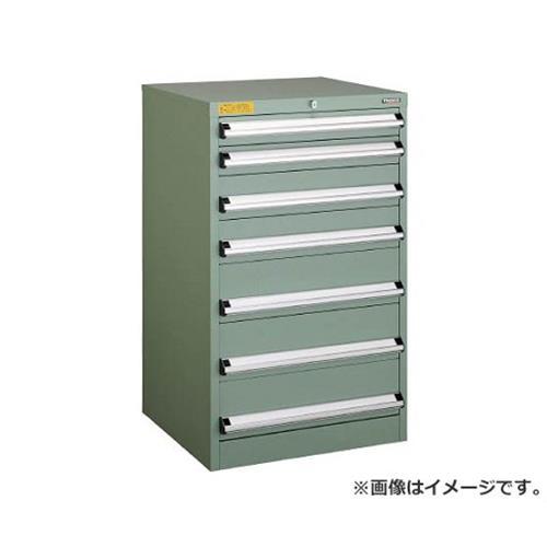 TRUSCO VE6S型キャビネット 600X550XH1000 引出7段 VE6S1005 [r22]