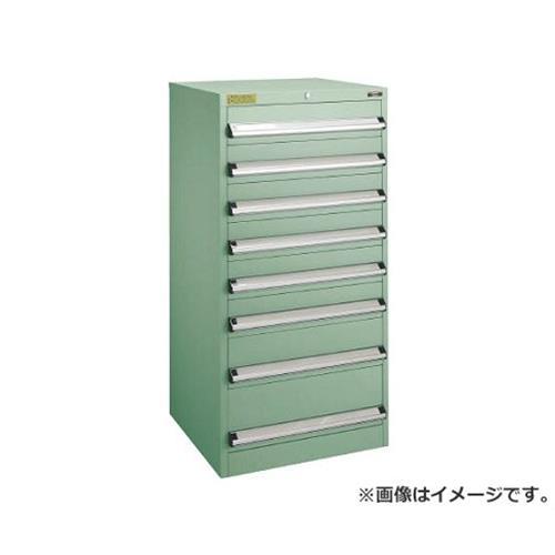TRUSCO VE6S型キャビネット 600X550XH1200 引出8段 VE6S1203 [r22]