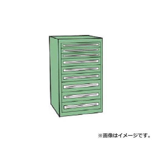 TRUSCO VE9S型キャビネット 880X550XH1200 引出9段 VE9S1207 [r22][s9-839]
