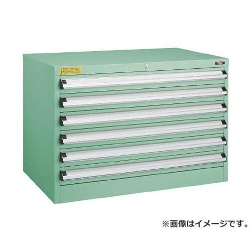 TRUSCO VE9S型キャビネット 880X550XH600 引出6段 VE9S604 [r22]
