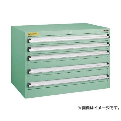 TRUSCO VE9S型キャビネット 880X550XH600 引出5段 VE9S605 [r22]