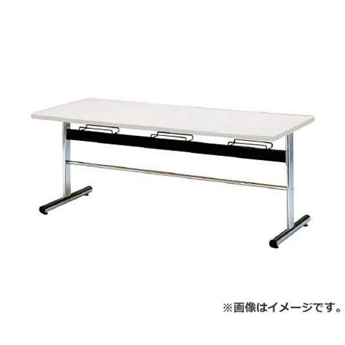 TOKIO 食堂用テーブル ソフトエッジ 1800×750mm ホワイト DA1875W [r20][s9-833]