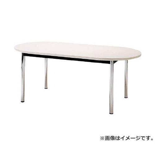 TOKIO ミーティングテーブル 楕円型 1800×900mm ホワイト TC1890RW [r20][s9-833]
