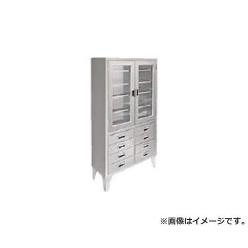 米沢 ステンレス保管庫両開きタイプ W900XD360XH1700 NA900G8 [r22]