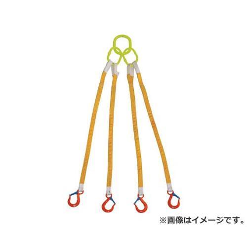 大洋 4本吊 インカリフティングスリング 1.6t用×2m 4ILS1.6TX2 1個入