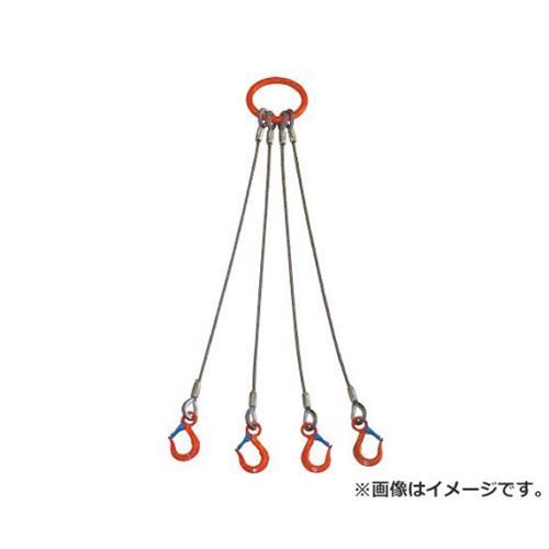 大洋 4本吊 ワイヤスリング 3.2t用×1m 4WRS3.2TX1 1個入 [r20][s9-920]