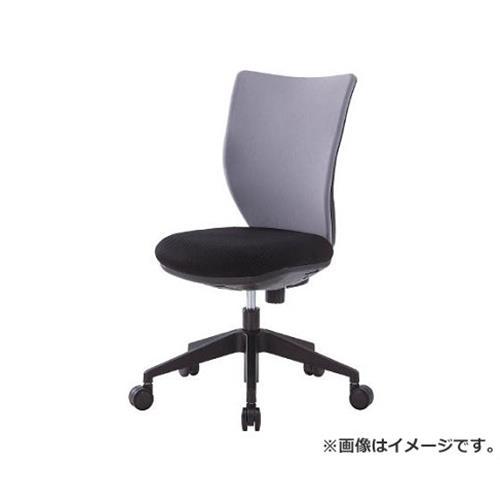 アイリスチトセ 回転椅子3DA グレー 肘なし 3DA45M0GR