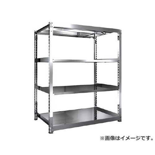 TRUSCO SM3型SUS棚 1500X921XH1800 4段 単体 SM36594 [r21][s9-940]