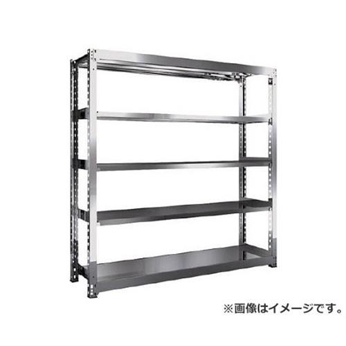 TRUSCO SM3型SUS棚 1800X471XH1800 5段 単体 SM36655 [r20][s9-910]