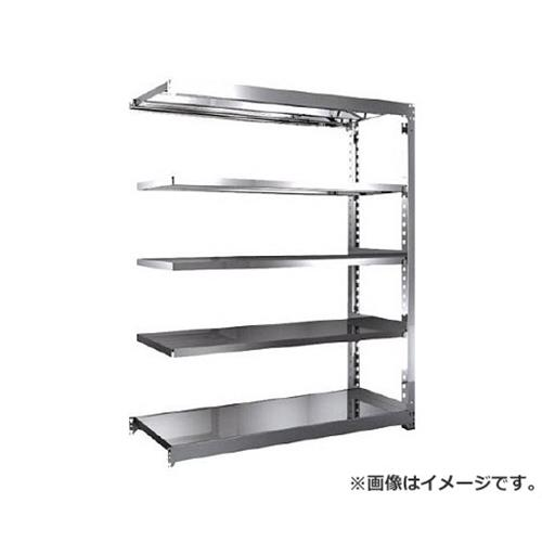 TRUSCO SM3型SUS棚 1500X571XH1800 5段 連結 SM36565B [r20][s9-910]