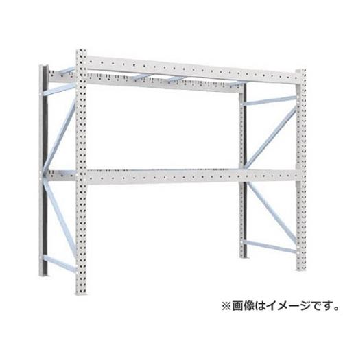 TRUSCO 重量パレット棚1トン2300×1000×H2000単体 1D20B23102 [r22]