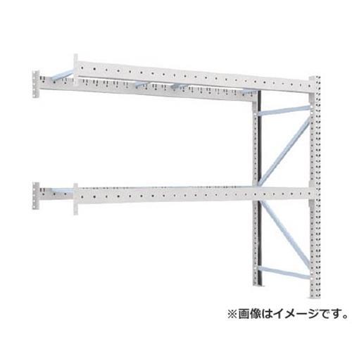 TRUSCO 重量パレット棚1トン2500×900×H2000連結 2段 1D20B25092B [r22]