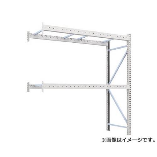 TRUSCO 重量パレット棚1トン2300×900×H2500連結 2段 1D25B23092B [r22][s9-039]