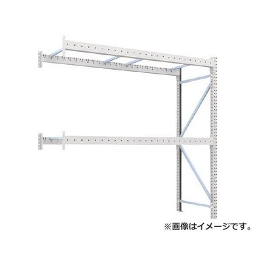 TRUSCO 重量パレット棚1トン2500×900×H2500連結 2段 1D25B25092B [r22]