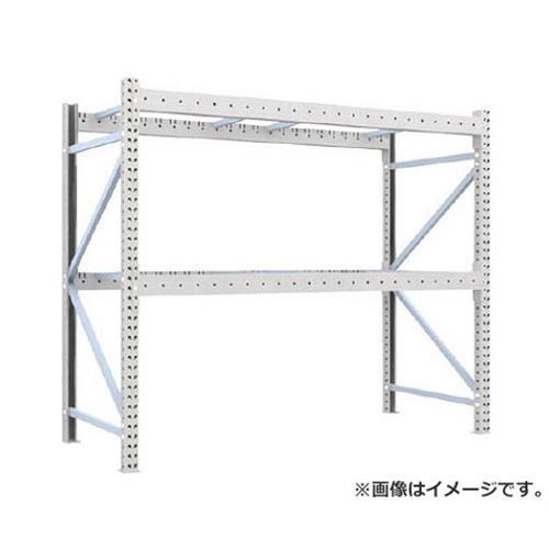 TRUSCO 重量パレット棚2トン2300×1000×H2000単体 2D20B23102 [r22]