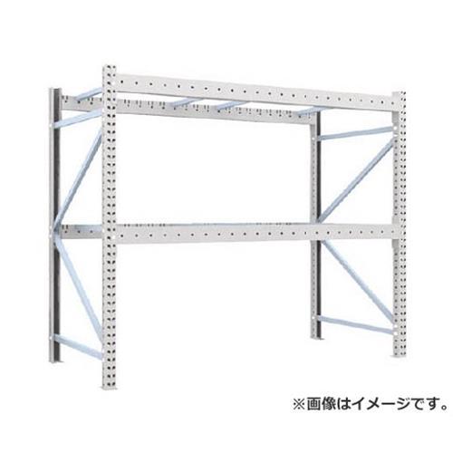 TRUSCO 重量パレット棚2トン2300×1100×H2000単体 2D20B23112 [r22]