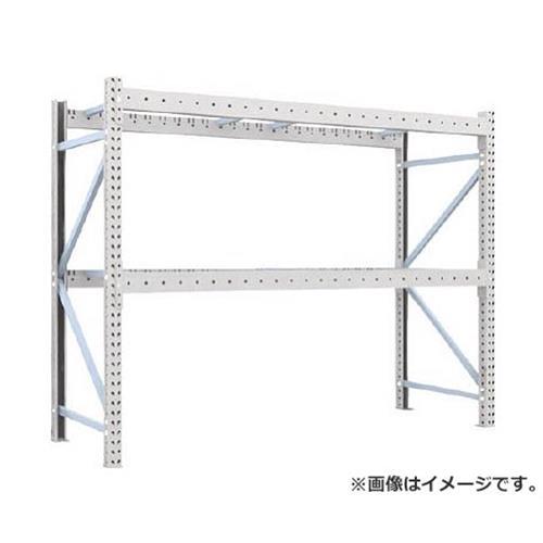 TRUSCO 重量パレット棚2トン2500×900×H2000単体 2段 2D20B25092 [r22]