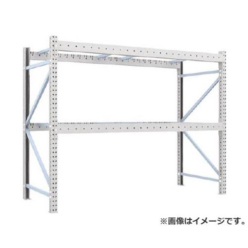 TRUSCO 重量パレット棚2トン2500×1000×H2000単体 2D20B25102 [r22]