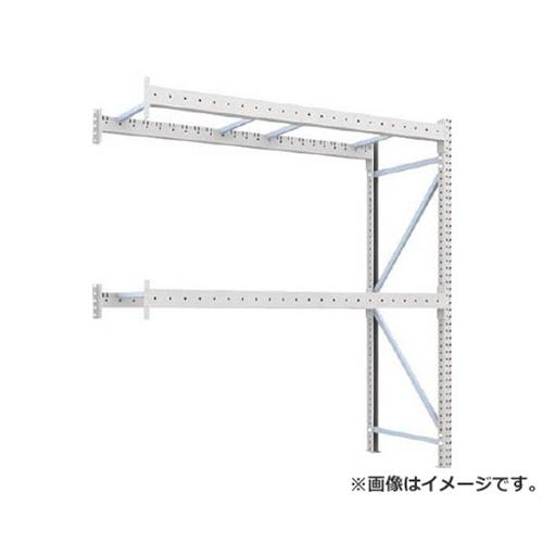 TRUSCO 重量パレット棚2トン2300×900×H2500連結 2段 2D25B23092B [r22]