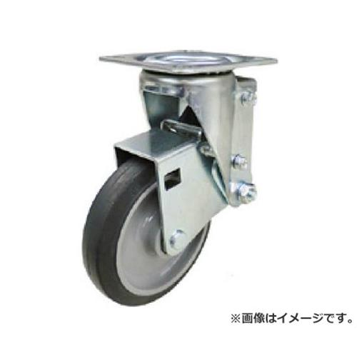 ユーエイ クッションキャスター 125径 自在車 ゴム車輪 SHSKYS125NRB30 [r20][s9-910]