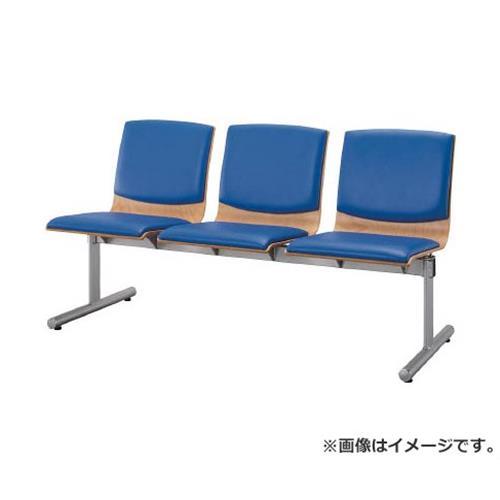 アイリスチトセ ウッドレスト 3人用 ブルー CWRBST3BL [r22]