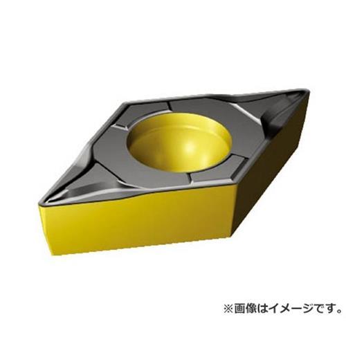 サンドビック コロターン107 旋削用ポジ・チップ DCMT11T302PF ×10個セット (4325) [r20][s9-910]