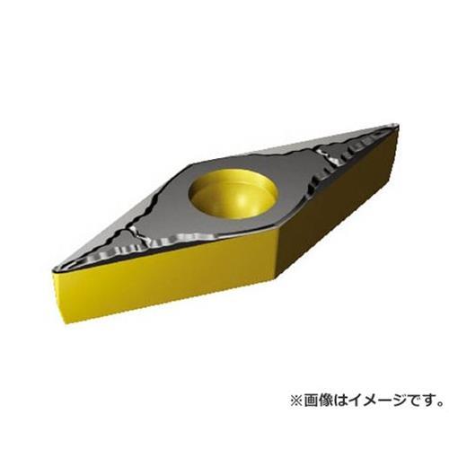 サンドビック コロターン107 旋削用ポジ・チップ VBMT160404PM ×10個セット (4325) [r20][s9-910]