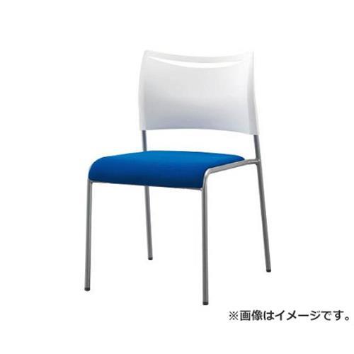 アイリスチトセ ミーティングチェア ライタス4 布張り ブルー LTS4FBL [r20][s9-910]