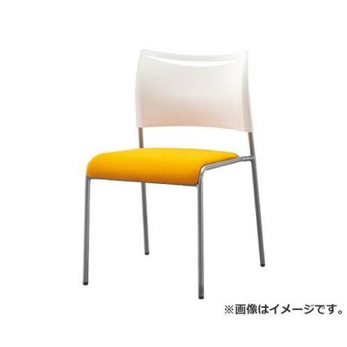 アイリスチトセ ミーティングチェア ライタス4 布張り オレンジ LTS4FOG [r20][s9-910]