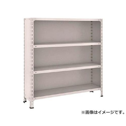 TRUSCO 軽量棚背板・側板付 W1200XD300XH1200 4段 44V24 (NG) [r20][s9-910]