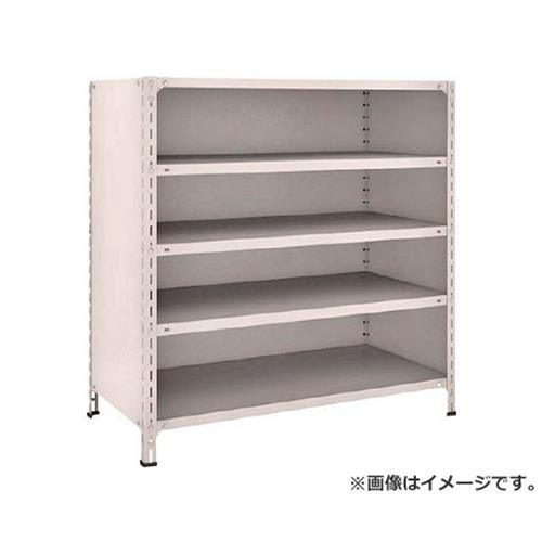 TRUSCO 軽量棚背板・側板付 W1200XD600XH1200 5段 44W25 (NG) [r21][s9-831]