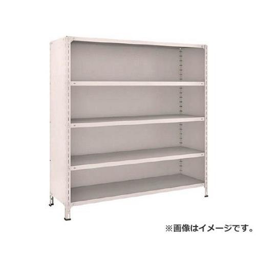 TRUSCO 軽量棚背板・側板付 W1500XD450XH1500 5段 55X25 (NG) [r21][s9-920]