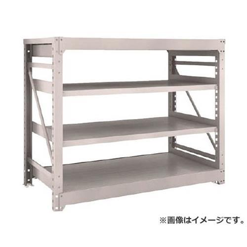 TRUSCO M10型重量棚 1500X760XH1200 4段 単体 NG M104574 (NG) [r21][s9-940]
