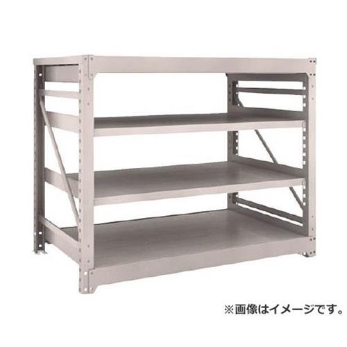 TRUSCO M10型重量棚 1500X900XH1200 4段 単体 NG M104594 (NG)