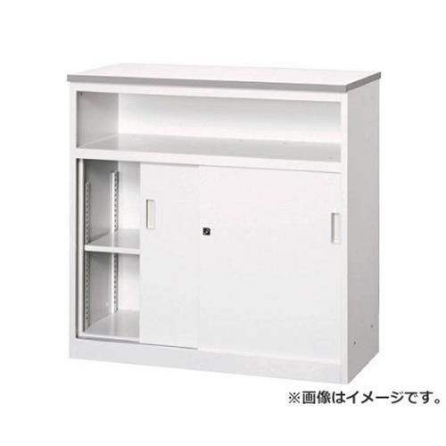 TRUSCO CVAカウンター W900中棚付ハイカウンター CVA9HST [r22]
