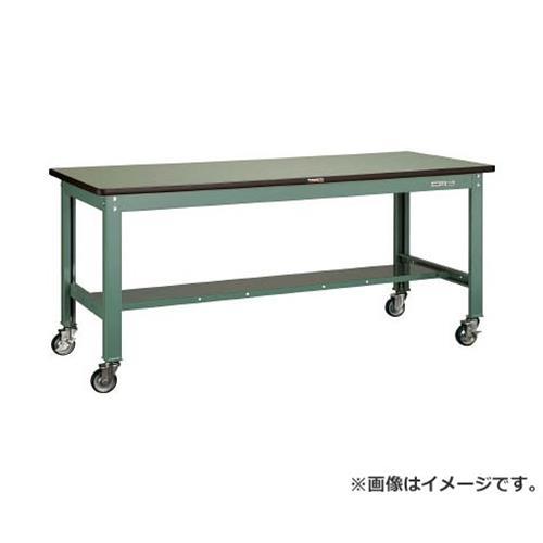 TRUSCO SHW型作業台 1800X750 100φキャスター付 SHW1800CU100 [r21][s9-930]