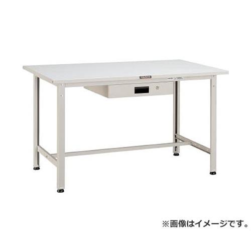 TRUSCO SAE型作業台 1800X900XH740 薄型1段引出付 DG色 SAE1809UDK1DG [r21][s9-920]