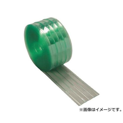 TRUSCO ストリップ型リブ付き間仕切りシート静電透明3X300X30M TSR33030 [r20][s9-930]