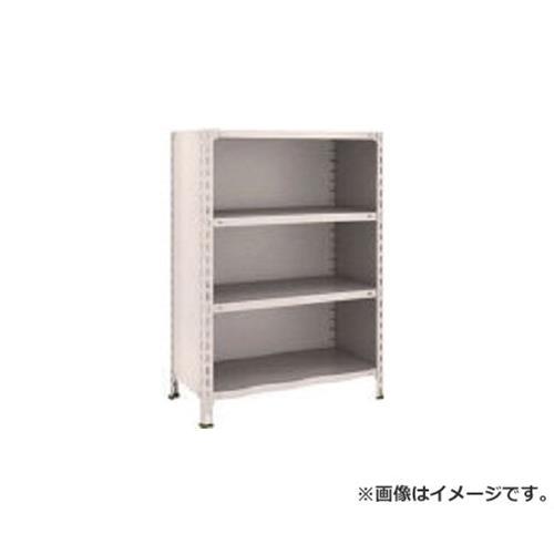 TRUSCO 軽量棚背板・側板付 W875XD450XH1200 4段 43X24 (NG) [r20][s9-910]