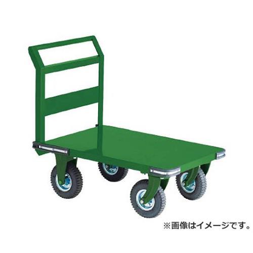 TRUSCO 鋼鉄製運搬車 900X600 Φ223空気入タイヤ 鋳物金具 OH2AR [r20][s9-834]