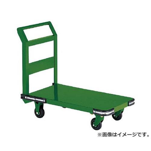 TRUSCO 鋼鉄製運搬車 1200X600 Φ150鋳物車輪 OH2L [r20][s9-930]