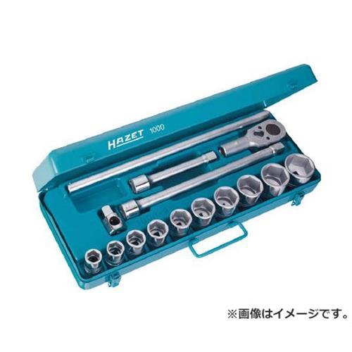 HAZET HAZET ソケットレンチセット(6角タイプ・差込角19.0mm) 1000 [r20][s9-910]