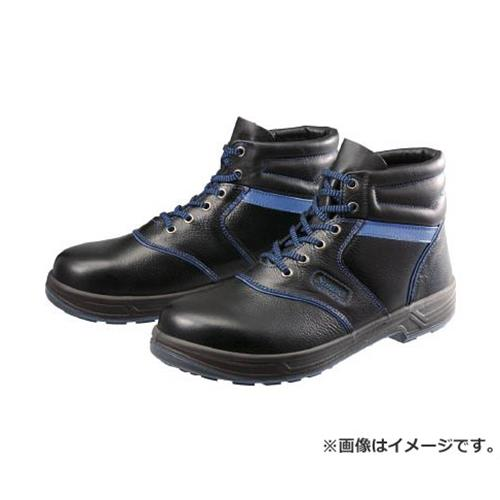 シモン 安全靴 編上靴 SL22-BL黒/ブルー 28.0cm SL22BL28.0 [r20][s9-910]