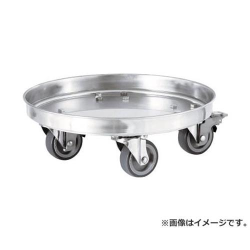 日東 タンク運搬用ステンレス台車 SSゴム車 適用サイズ47・47H KM47 [r20][s9-910]