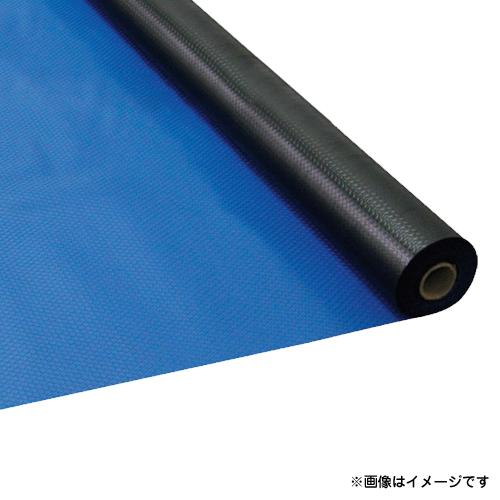 ワニ印 塩ビマット ダイヤマット ブルー 1.5mm厚×915mm×20m巻 3022 [r20][s9-910]