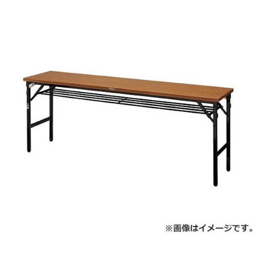 TRUSCO 折畳会議テーブル ワイドクランク 1800X450 ストッパー付 TSMW1845 [r20][s9-910]